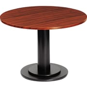 Iceberg 42 Round Laminate Conference Table Top, Mahogany