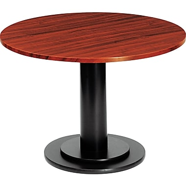 Iceberg 48in. Round Laminate Conference Table Top, Mahogany