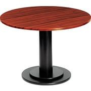 Iceberg 48 Round Laminate Conference Table Top, Mahogany