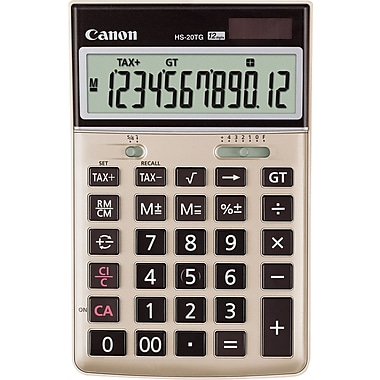 Canon® HS-20TG Desktop Calculator