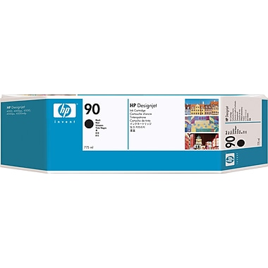 HP 90 Black Ink Cartridge (C5059A), 775ml