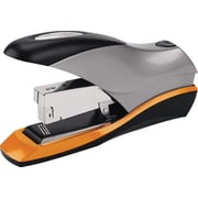 Swingline® Optima® High Capacity Half Strip Stapler, 70 Sheet Capacity, Silver