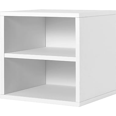 Foremost® Hold'ems Modular Cube Storage System, White 15in.H x 15in.W x 15in.D Shelf Cube