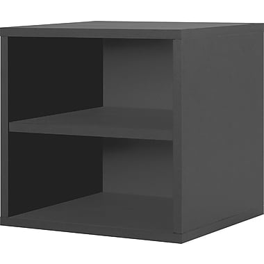 Foremost® Hold'ems Modular Cube Storage System, Black 15in.H x 15in.W x 15in.D Shelf Cube
