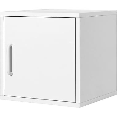 Foremost® Hold'ems Modular Cube Storage System, White 15in.H x 15in.W x 15in.D Door Cube