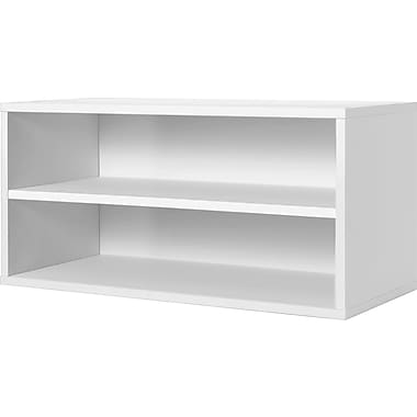 Foremost® Hold'ems Modular Cube Storage System, White 15in.H x 30in.W x 15in.D Shelf Double Cube