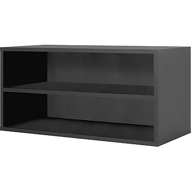 Foremost® Hold'ems Modular Cube Storage System, Black, 15in.H x 30in.W x 15in.D Shelf Double Cube