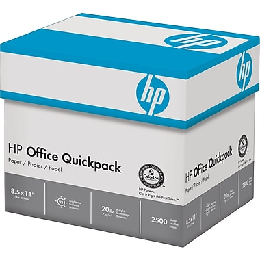 HP Office QuickPack™, 8 1/2in. x 11in., Half Case