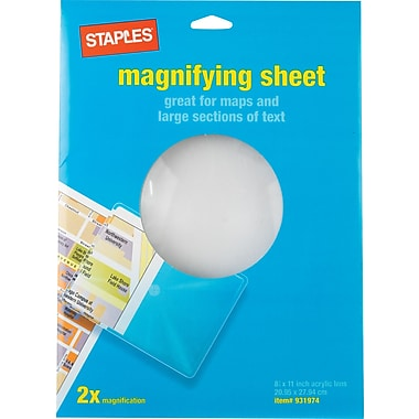 Staples® Full-Page Magnifier