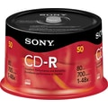 Sony 50/Pack 700MB CD-R, Spindle