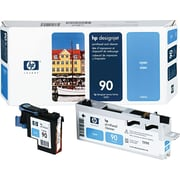 HP 90 Cyan Printhead and Cleaner (C5055A)