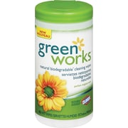 Clorox Green Works Natural Cleaning Wipes, 62/Pack