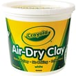 Crayola® BIN575055 Air-Dry Clay Bucket, White