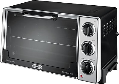 DeLonghi Rotisserie Convection Toaster Over, Black 846425