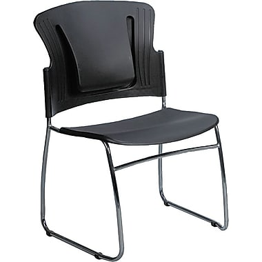 Balt® ReFlex™ Stacking Chairs, Black