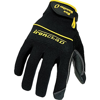 Ironclad® Box Handler Gloves, Medium, Black