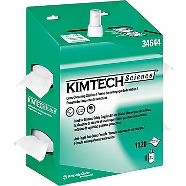 Kimtech Science™ Kimwipes™ Lens Cleaning Station, 4/Carton