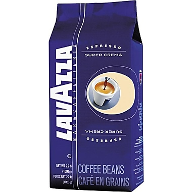 Lavazza® Super Crema Espresso Whole Bean Coffee, Regular, 2.2 lb. Bag