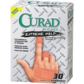 Curad®Extreme Hold Bandages, Assorted Sizes, 30 Bandages/Box