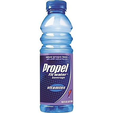 Propel Fit Water™ Grape Flavored Water, 16.7 oz., 24/Case