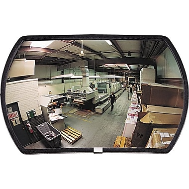 60 degree Convex Security Mirror, 24in. w x 15in. h