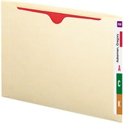 Smead Recycled Expanding End Tab File Jacket, Letter, , Flat, Manila, 50/Bx
