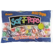 Spangler® Saf-T-Pops, Assorted Flavors, 200 Pops/Box
