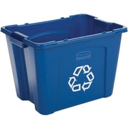 Rubbermaid Recycling Basket, 14 gal.