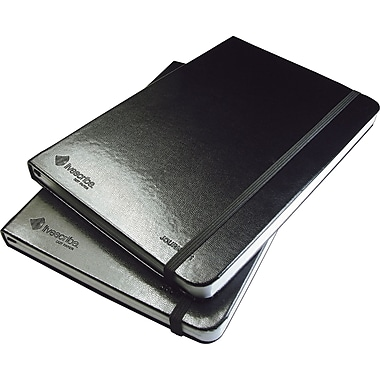 Livescribe Black Lined Journal, 2-Pack, Numbers 3 and 4