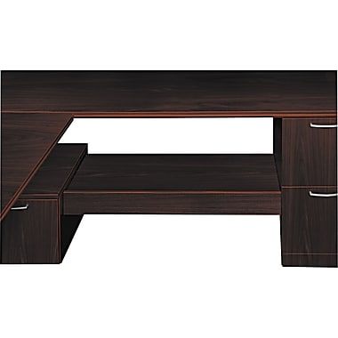 HON® Attune™ Series Under-Credenza Storage With File and Printer Shelf