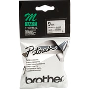 Brother Label Tape, 9mm Black on Silver, M921