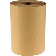 "Boardwalk® Hardwound Paper Towels, 8"" x 350ft, 1-Ply Kraft, 12 Rolls/Carton"