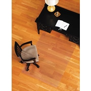 ES Robbins Robbins 60''x46'' Plastic Chair Mat for Hard Floor, Rectangular (ESR132321)