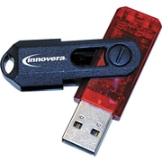 Innovera Portable USB 2.0 Flash Drive, 8GB