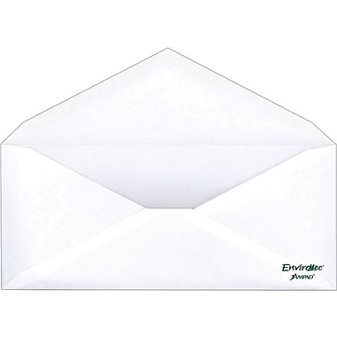 Ampad® #10 Envirotec™ 100% Recycled Gummed Envelopes, 500/Box