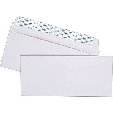 Staples® #10, EasyClose Envelopes, 500/Box