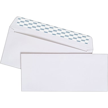Staples® #10, Easy Close Envelopes, 100/Box