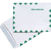 "Staples® First-Class QuickStrip Catalog Envelopes, 10"" x 13"", White, 100/Box (486930/14265)"