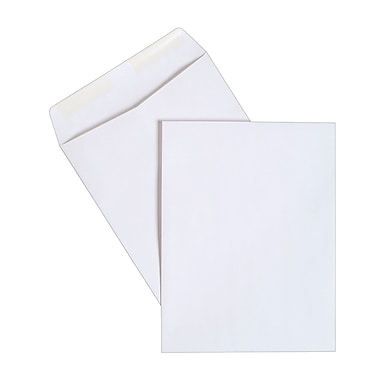Staples® 10in. x 13in. White Wove Catalog Envelopes, 250/Box