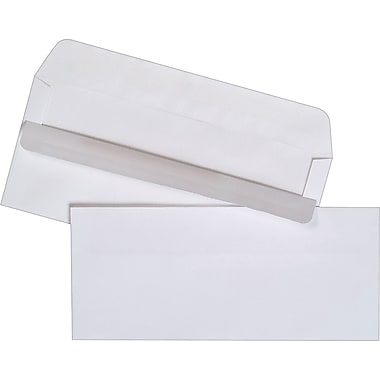 Staples® #10, Self-Sealing Envelopes, 500/Box