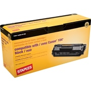 STAPLES® Remanufactured Toner Cartridge Compatible with Canon® 104