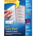 Avery® White Inkjet Address Labels with Easy Peel®