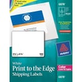 Avery® Color Printing Matte White Laser Shipping Labels