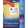 "Avery® 5264 White Laser Shipping Labels with TrueBlock™, 3-1/3"" x 4"", 150/Box"