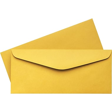 Quality Park™ #14, Brown Kraft Gummed Envelopes, 500/Box