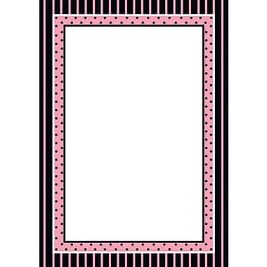 Great Papers Ooh La La Flat Card Invitation with Envelopes, 20/Pack