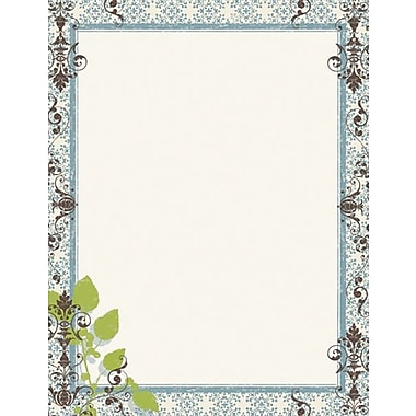 Garden Montage Stationery and Envelopes