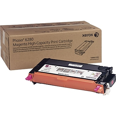 Xerox® Phaser 6280 Magenta Toner Cartridge, High Yield (106R01393)
