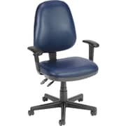 OFM Anti-Bacterial Vinyl Posture Task Chair, Navy