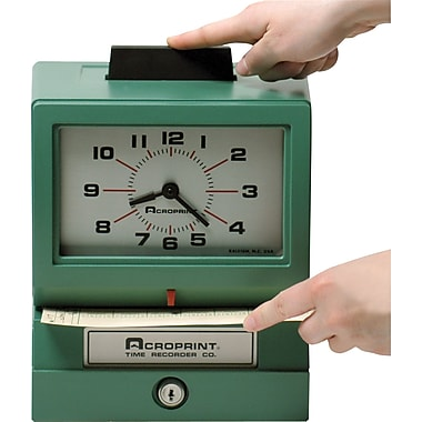 Acroprint® Manual Time Recorder